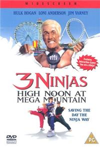 3 Ninjas: High Noon at Mega Mountain (1998) Poster