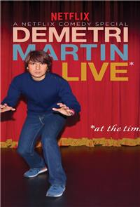 Demetri Martin: Live (At The Time) (2015) Poster