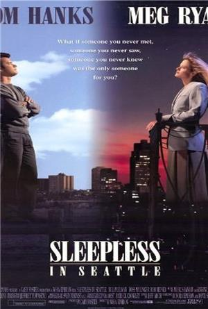 Sleepless in seattle original movie poster