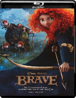Brave (2012) 1080p Poster