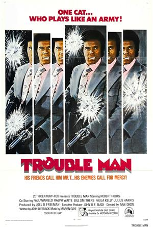 Trouble Man (1972) 1080p Poster