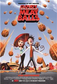 Cloudy with a Chance of Meatballs (2009) 1080p Poster