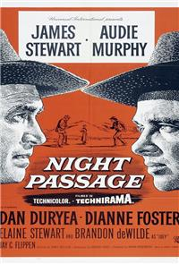 Night Passage (1957) Poster