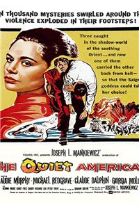 The Quiet American (1958) Poster