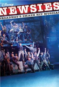 Disney's Newsies the Broadway Musical (2017) Poster