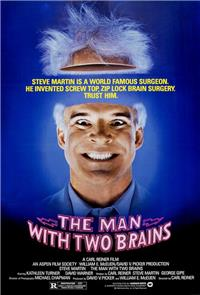The Man with Two Brains (1983) 1080p Poster