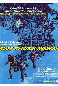 Escape to Witch Mountain (1975) 1080p Poster