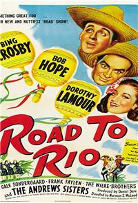 Road to Rio (1947) Poster
