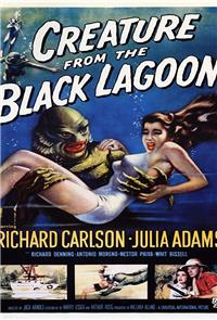 Creature from the Black Lagoon (1954) 1080p Poster