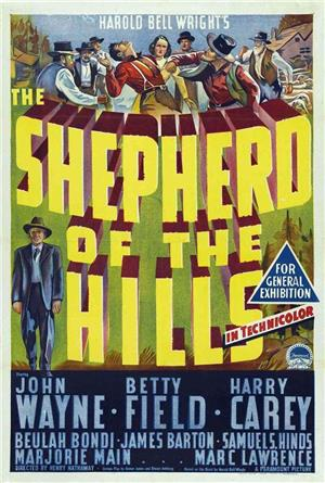 The Shepherd of the Hills (1941) Poster