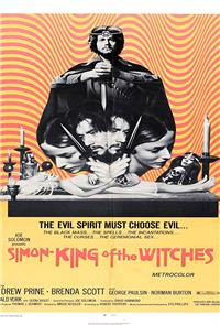 Simon, King of the Witches (1971) 1080p Poster