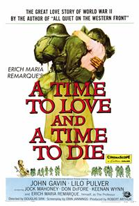 A Time to Love and a Time to Die (1958) Poster