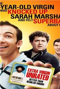 The 41–Year–Old Virgin Who Knocked Up Sarah Marshall and Felt Superbad About It (2010) 1080p Poster