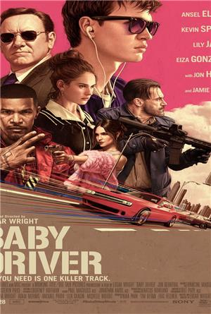 Baby Driver (2017) 1080p Poster