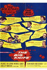 The Big Knife (1955) Poster