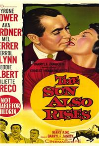 The Sun Also Rises (1957) Poster