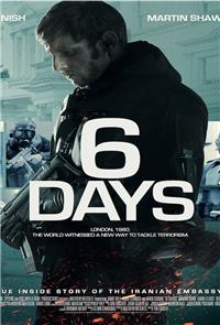 6 Days (2017) 1080p Poster