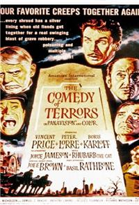 The Comedy of Terrors (1963) 1080p Poster