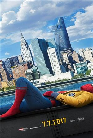 Spider-Man: Homecoming (2017) 3D Poster