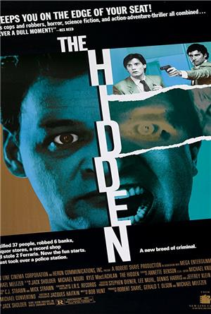 The Hidden (1987) 1080p Poster