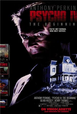 Psycho IV: The Beginning (1990) Poster