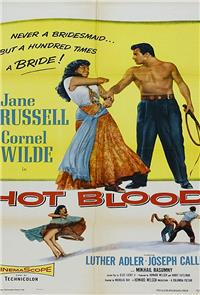 Hot Blood (1956) poster