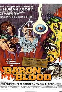 Baron Blood (1972) poster