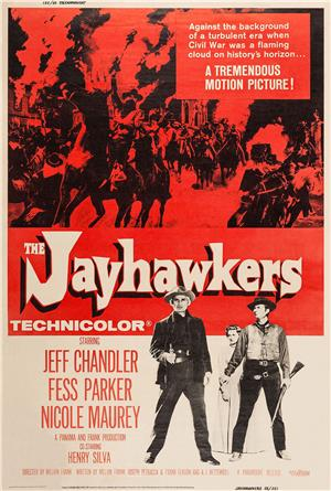 The Jayhawkers (1959) 1080p Poster