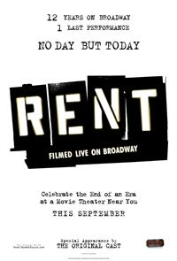 Rent: Filmed Live on Broadway (2008) 1080p Poster