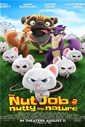 The Nut Job 2: Nutty by Nature (2017) 1080p Poster