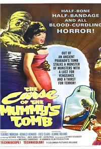 The Curse of the Mummy's Tomb (1964) 1080p Poster