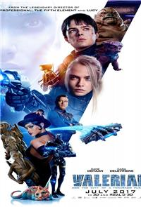 Valerian and the City of a Thousand Planets (2017) 3D Poster