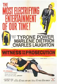Witness for the Prosecution (1957) 1080p Poster