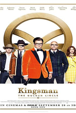 Kingsman: The Golden Circle (2017) 1080p Poster