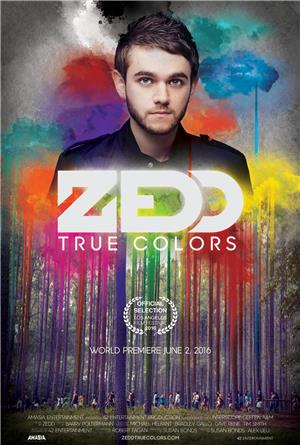 Zedd True Colors (2016) Poster