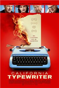 California Typewriter (2017) Poster