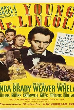 Young Mr. Lincoln (1939) 1080p Poster