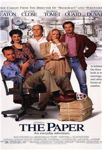 The Paper (1994) Poster