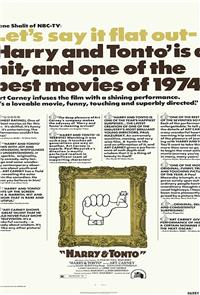 Harry and Tonto (1974) Poster