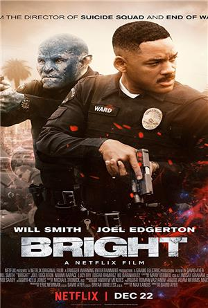 Bright (2017) 1080p Poster