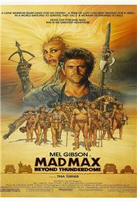 Mad Max Beyond Thunderdome (1985) 1080p Poster