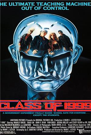 Class of 1999 (1990) 1080p Poster