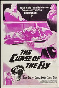 Curse of the Fly (1965) Poster