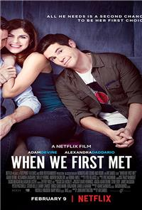 When We First Met (2018) Poster