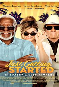 Just Getting Started (2017) 1080p Poster