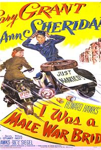 I Was a Male War Bride (1949) Poster