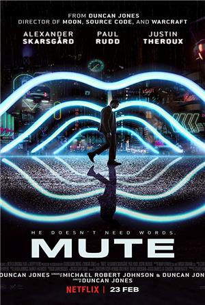 Mute (2018) 1080p Poster