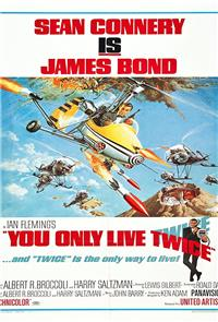 You Only Live Twice (1967) 1080p Poster