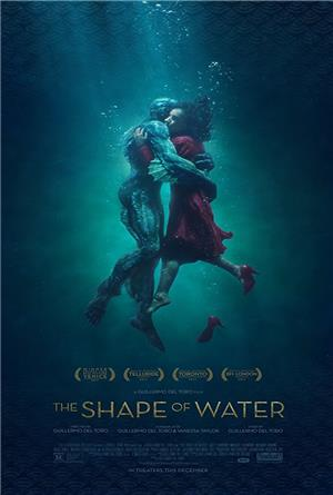 The Shape of Water (2017) 1080p Poster