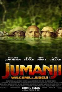 Jumanji: Welcome to the Jungle (2017) 1080p Poster